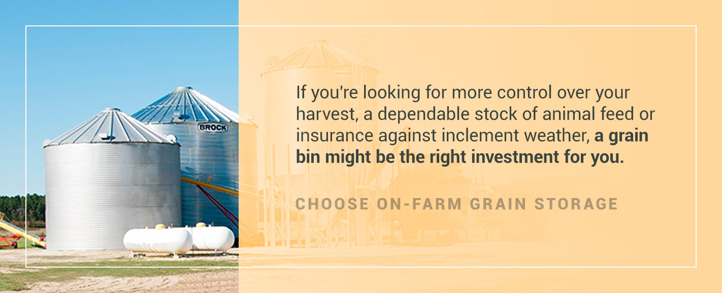 Why Grain Bins Are The Right Investment For Your Farm